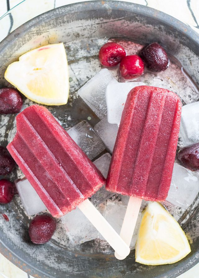 Amaretto Sour Cherry Popsicles Who says that enjoying popsicles needs to end when you grow up? Whoever does say that is full of bologna! Thank goodness there's a lot of people who think that boozy popsicles should be a thing that we do. Often. From margarita popsicles to red wine popsicles, there's something for every responsible adult who would like to enjoy an alcoholic treat on a hot summer day. Here are 10 boozy popsicle recipes for adults.