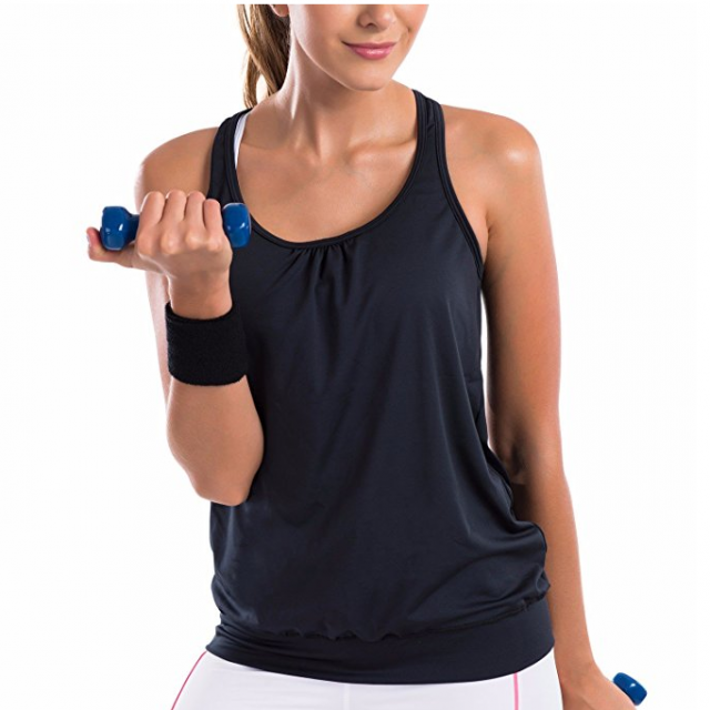 Form-fitting tops - As a mom, yoga is one of my favorite exercises. I didn't know what I needed to start doing yoga, so I asked other moms on Facebook their must-have yoga items.