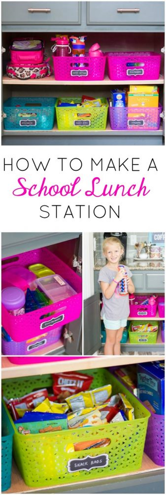 Back to school season is tough enough as it is. I love finding back to school organization tips to help me conquer the upcoming school year like a boss.