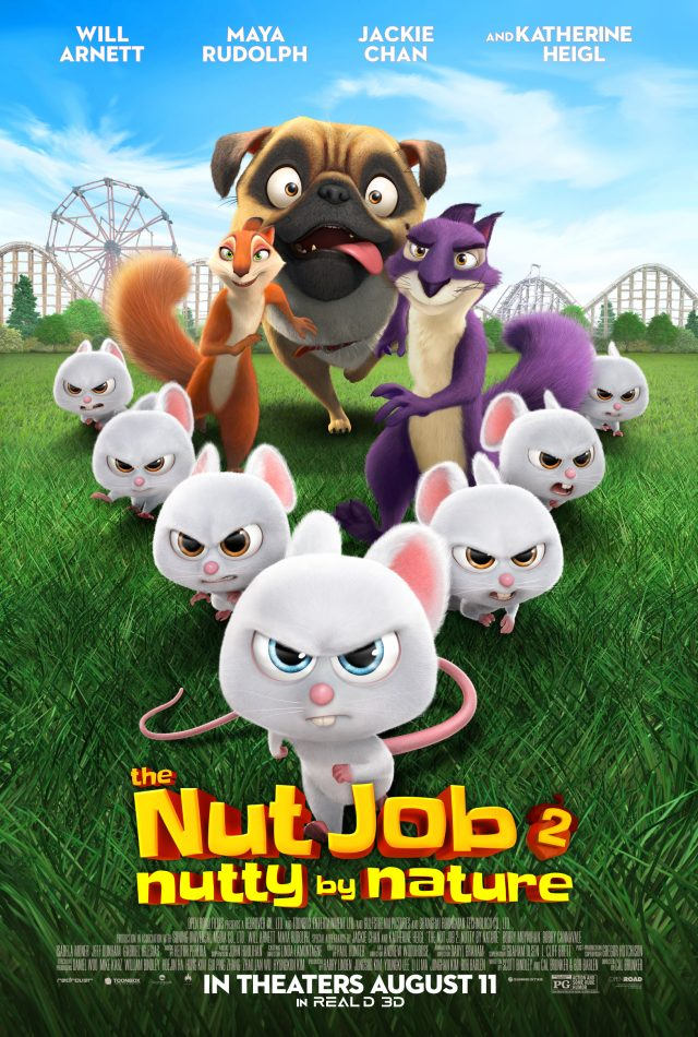The Nut Job 2: Nutty by Nature in theaters everywhere August 11th. #TheNutJob2