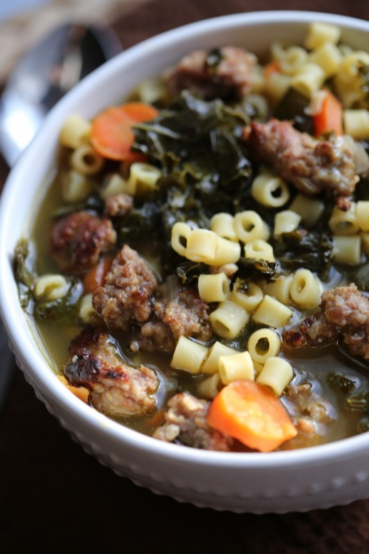 CrockPot Italian Sausage Wedding Soup Recipe