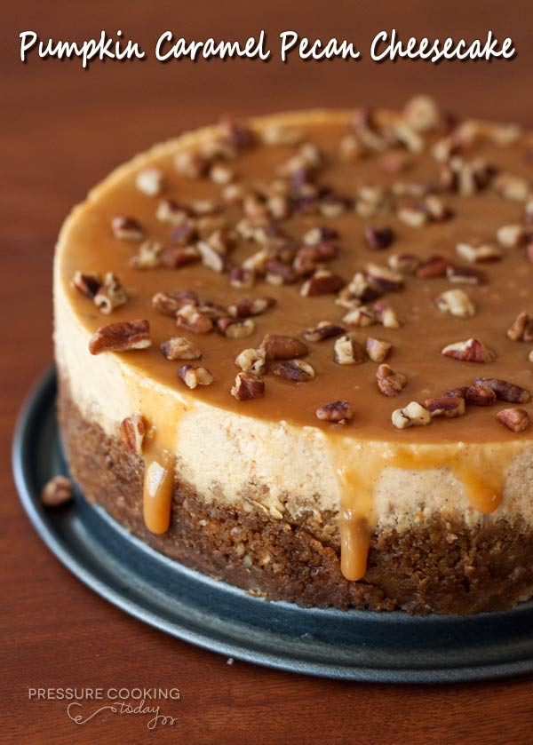 Instant Pot Pumpkin Caramel Pecan Cheesecake Fall is the best time to bust out your instant pot. There are so many fall-inspired instant pot recipes for cozy, crisp autumn days.