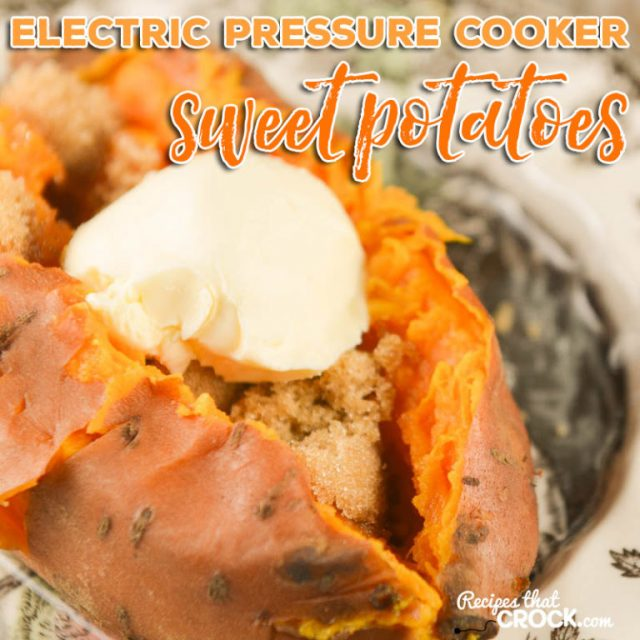 Pressure Cooker Sweet Potatoes Fall is the best time to bust out your instant pot. There are so many fall-inspired instant pot recipes for cozy, crisp autumn days.